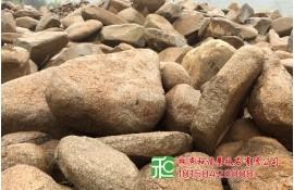 驳岸护坡工程用石大型卵石批发