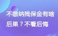 广东残疾人保障金