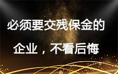 浙江小微企业最新残保金申报规定