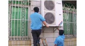 武汉相家岭小区空调移机清洗消毒上门