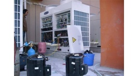 武汉才惠社区专业5匹空调移机