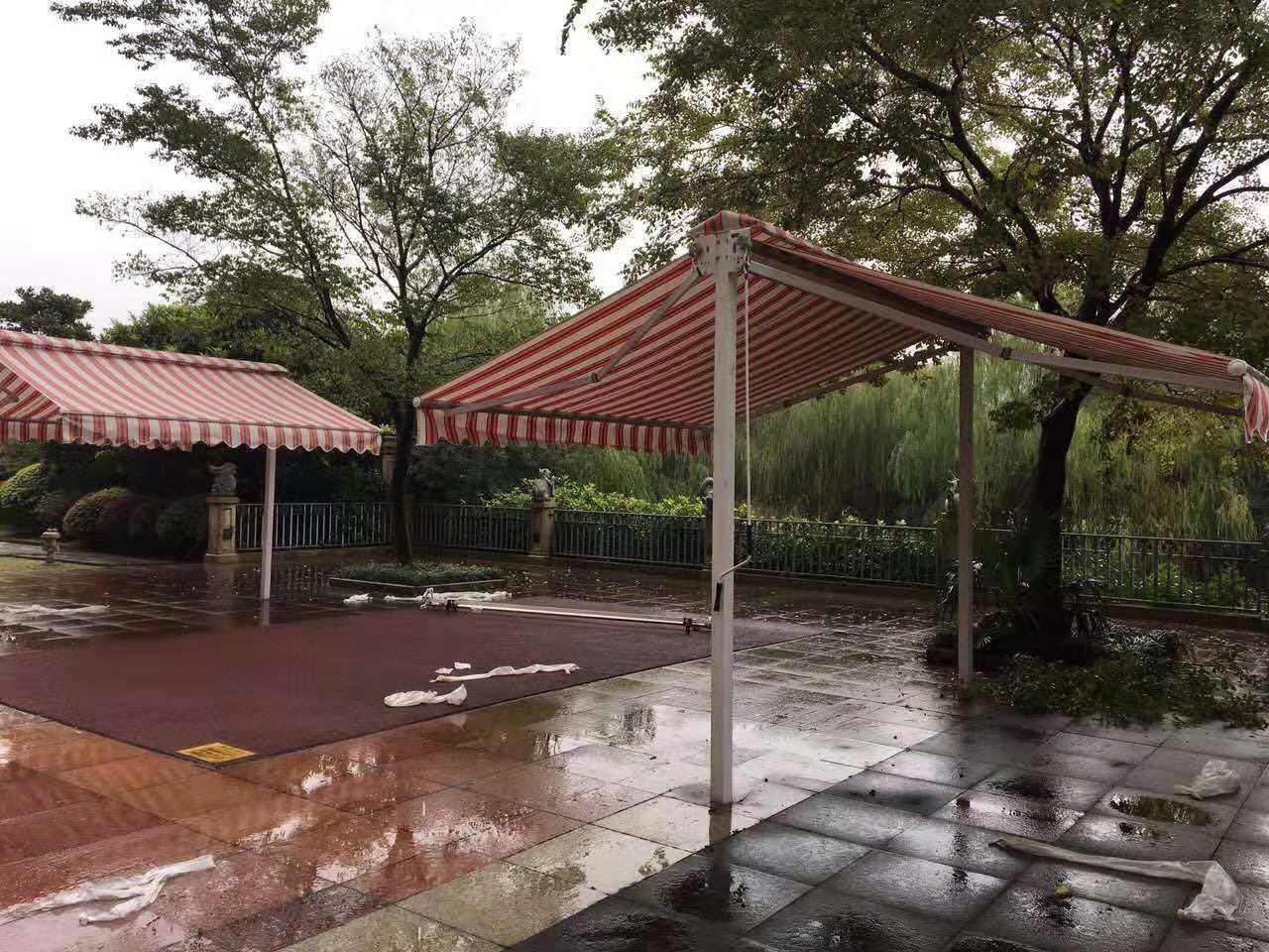 伸缩雨蓬,伸缩雨蓬公司,台州伸缩雨蓬