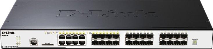 DGS-3120系列千兆三层全网管交换机