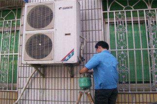 天竺府前二街专业空调安装